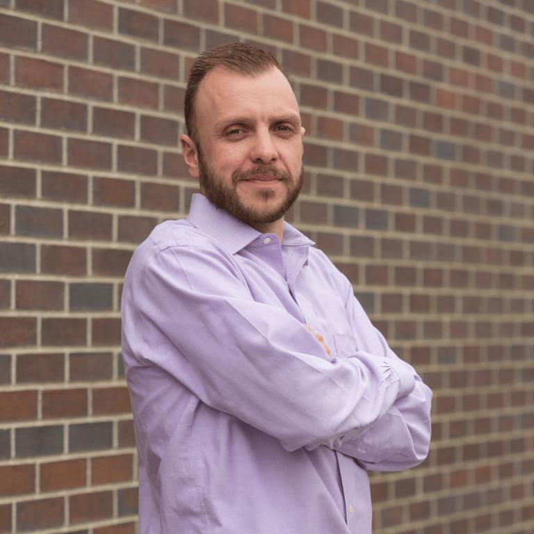 portrait of Sam Hollingsworth, vp of digital services at marketing agency Elevation Ten Thousand