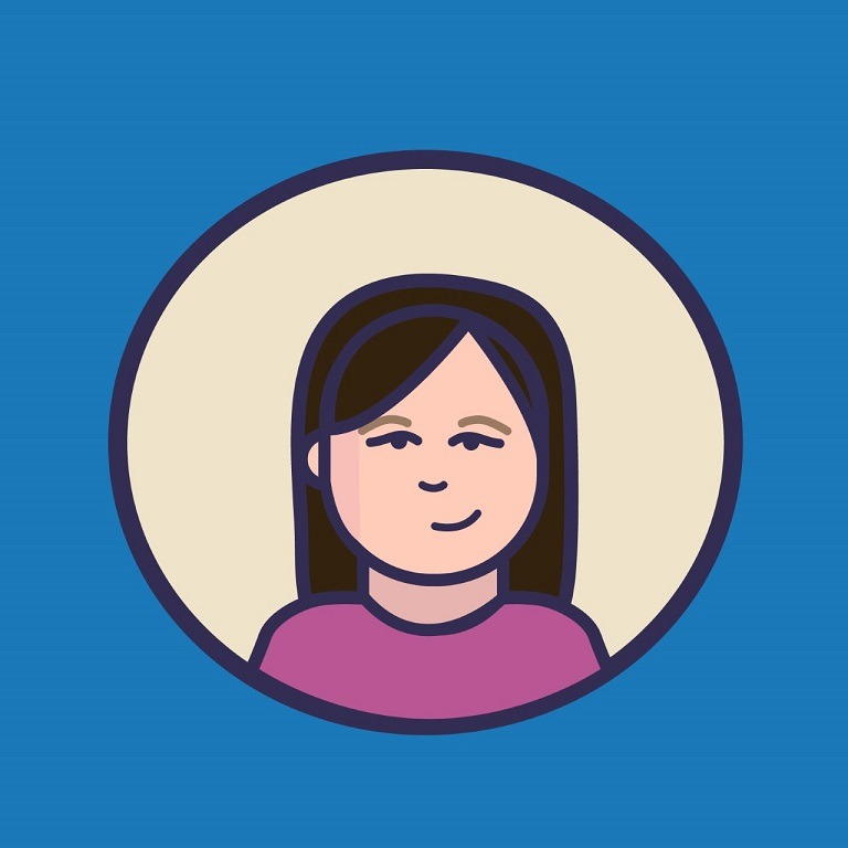 animated avatar of Sharlene Luther, who works in human resources at marketing agency Elevation Ten Thousand