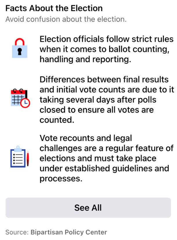 Voter Information Center supplying platform users with material to help avoid election confusion